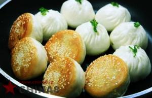 上海の焼き小籠包