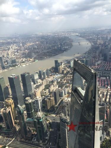 上海タワーから見た景色