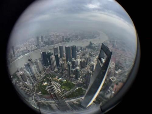 上海タワー展望台