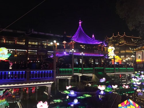 2019年上海豫園ランタン祭り
