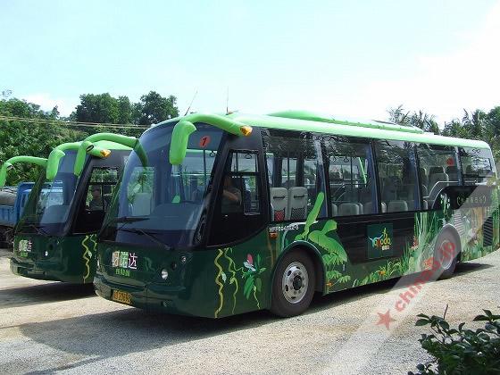 バスに乗って更に奥地へ進みます。