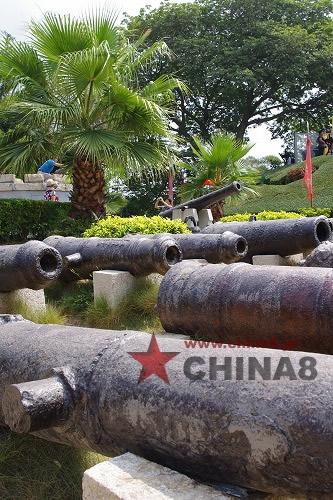 さびた古い大砲